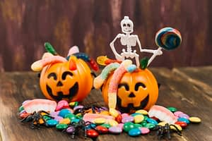 dulces halloween dientes